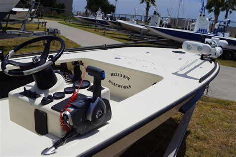 hells bay boats for sale in texas 2001 used hell s bay whipray 17 8 skiff boat for sale