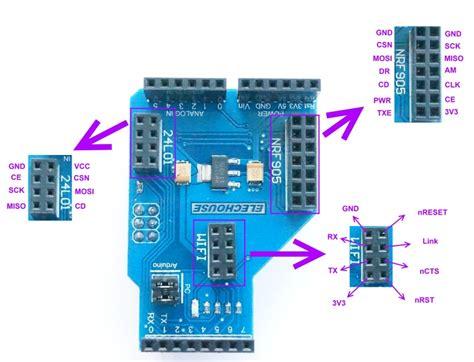 arduino code nrf24l01 wifi or nrf905 or nrf24l01 wireless shield for arduino ebay
