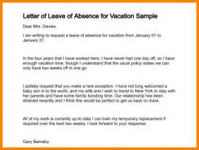4 requesting time off letter resume emails