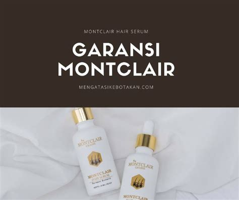 Produk Montclair Hair Serum mengatasi kebotakan montclair hair serum