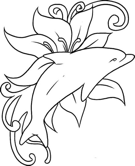 printable coloring pages dolphins 177 best images about fish sealife dolphin coloring for