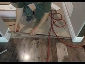 Installing Hardwood Floors Next To Existing Hardwood Laminate Floor Transition To Carpet How To Install Mryoucandoityourself