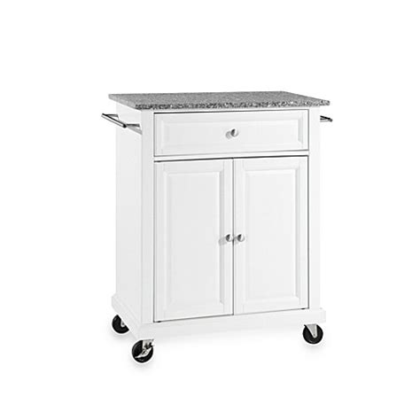 Kitchen Island Rolling Cart Crosley Granite Top Rolling Portable Kitchen Cart Island