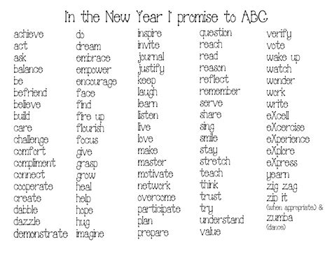 happy new year words in classroom freebies happy new year word activities