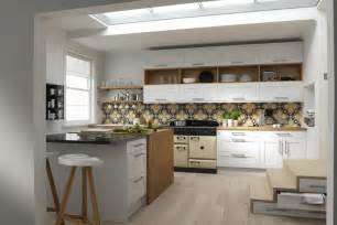 Kitchens With Stone Backsplash New The Linda Barker Collection For Wren Living Kitchen