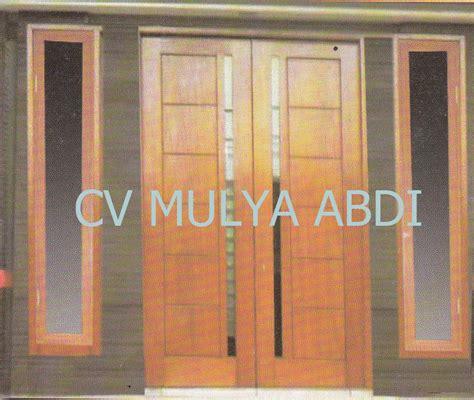 kusen minimalis 5 kusen pintu jendela kayu minimalis