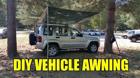 diy 4x4 awning overland vehicle diy 4x4 awning youtube