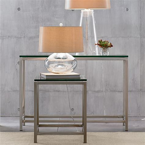 Entry Table For Small Spaces Epiphany Furniture Finds In Singapore Crate And Barrel