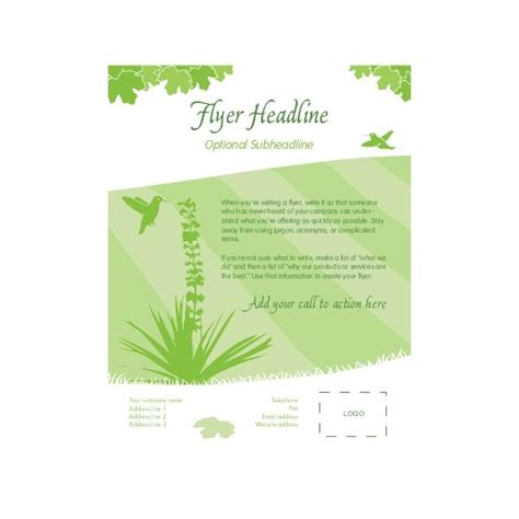 template for publisher free templates for microsoft publisher flyers
