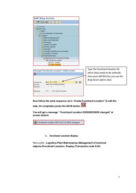 Sap Tutorial Manual | sap pm training manual www sapdocs info