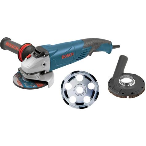 bosch 9 5 corded 5 in surface concrete grinder kit