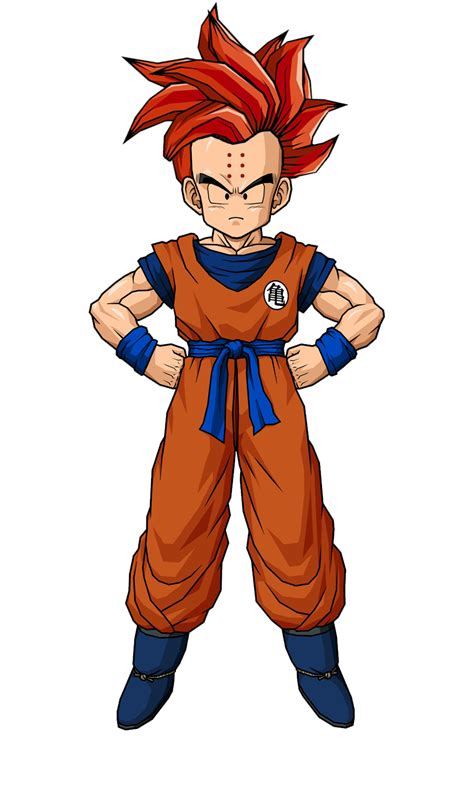 Original Scultures Krillin Kuririn New krilln new hair style by gokugarlic on deviantart