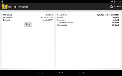 ftp server apk wifi pro ftp server android apps on play