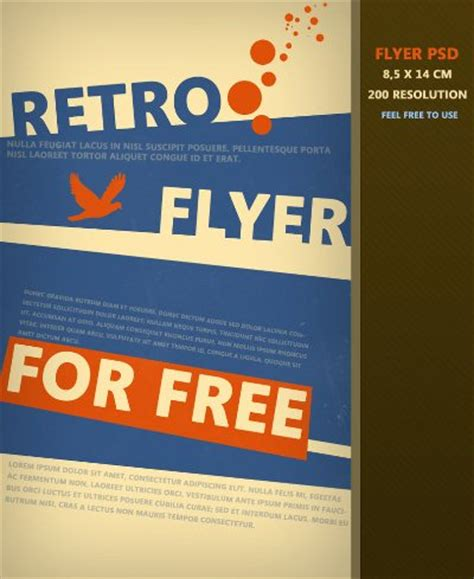 free template for flyer design flyer designs free printable templates set 1