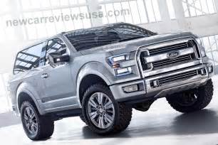 Ford Branco 2016 Ford Bronco Review Concept Release Date And Price