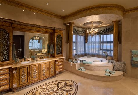 Modern Bathrooms South Africa by A Lavish Mega Mansion In South Africa Homes Of The Rich