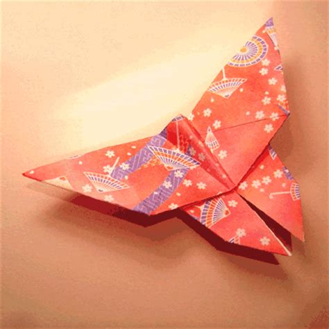 Origami Butterfly Directions - lets make origami origami butterfly