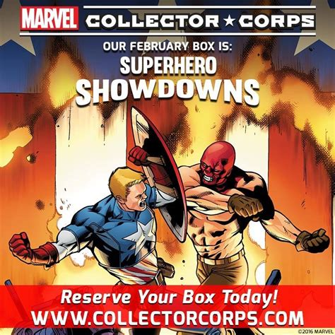 Marvel Collector Corps Showdowns Daredevil Series showdowns theme announced for the february