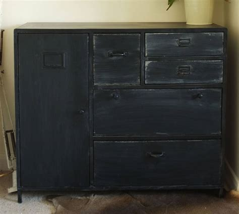 industrial looking cabinet vintage style industrial metal cabinet by cambrewood