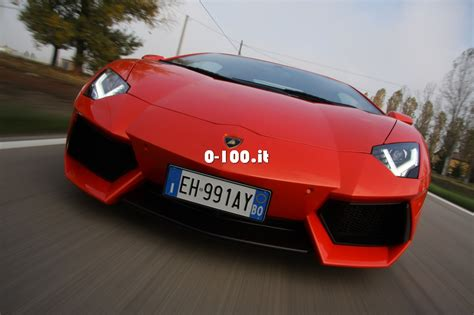 Lamborghini Aventador 0 To 100 by Prova Su Strada Lamborghini Aventador 0 100 It
