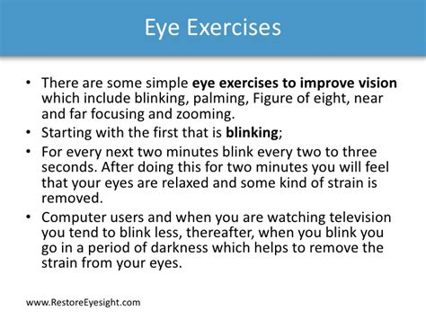 how to better your eye vision don t be stupid exercise your and improve vision