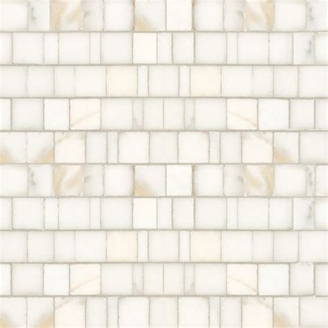 Artistic Tile Calacatta Gold Broken Joint Polished Mosaic