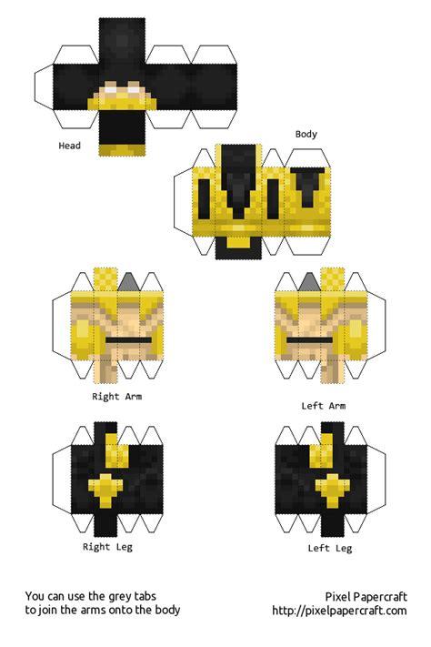 Mortal Kombat Papercraft - papercraft scorpion mortal kombat