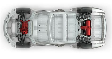 tesla reveals all wheel drive and self driving