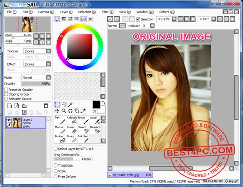 paint tool sai key painttool sai 1 0 1