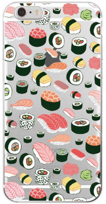 Sushi A1438 Iphone 6 6s sushi hoesje iphone 6 6s softcase iphone 6 6s