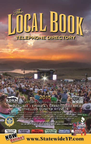 moses lake local book telephone directory  sarah