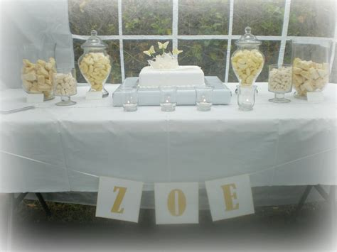 Christening Table Decoration Ideas Decorations Baptism Table Centerpiece
