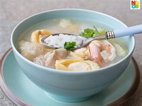 new year porridge recipe new year rice porridge recipe noobcook