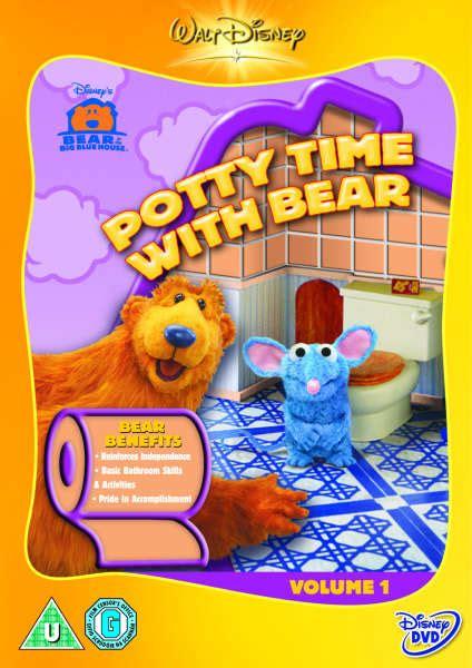 bear inthe big blue house dvd bear in the big blue house potty time dvd zavvi com