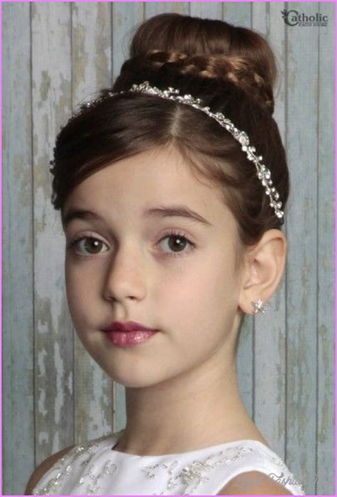 Holy Communion Hairstyles by Communion Hairstyles Hair Latestfashiontips