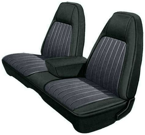 front split bench seat 1973 dodge parts mb799100 1973 charger se black vinyl