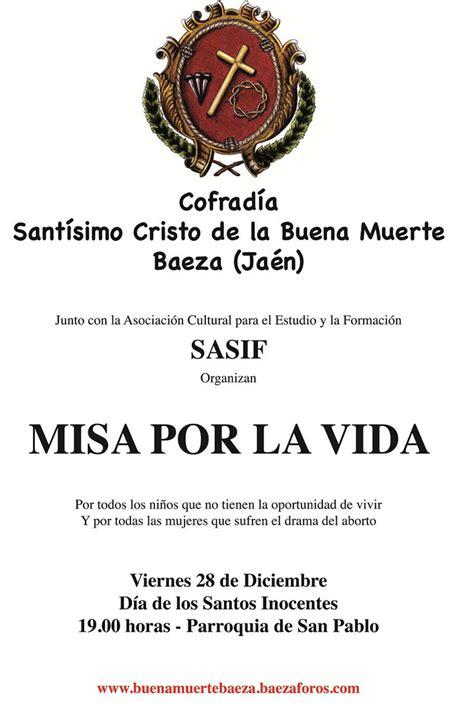 viernes 28 de diciembre de 2012 parroquia de san pablo baeza