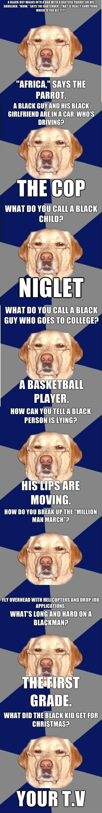 Racist Dog Meme - racist dog meme gallery ebaum s world