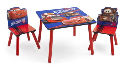 disney table and chair disney s cars table chairs set team 95