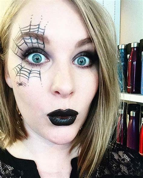 easy  minute halloween makeup  page