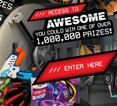 Lunchables Instant Win Game - lunchables access to awesome instant win game over 1 000 000 prizes