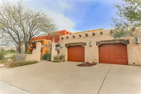 adobe style houses adobe style home offers slice of southwest las vegas