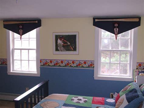 valances for boys bedroom custom baseball bat banner valances