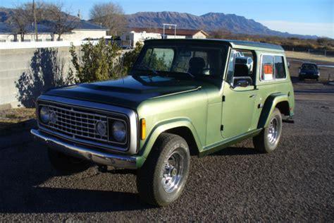 commando green jeep seller of cars 1973 jeep commando green green