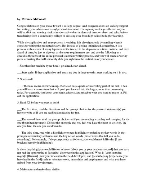 How To Write An Essay Sle by Sle Nursing School Admission Essay 28 Images Sle Cover Letter For Graduate School Admission