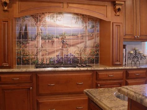 italian kitchen backsplash tuscan murals mural photo album by christine mcintyre hannon