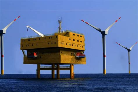 Accommodation Platform for DanTysk Wind Farm Near