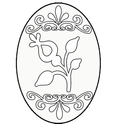 Easter Egg Coloring Pages Twopartswhimsicalonepartpeculiar Easter Eggs Coloring Pages
