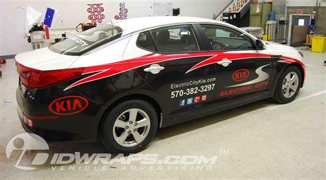 Electric City Kia 3m Vinyl Kia Optima Wrap For Dealer In Scranton Idwraps