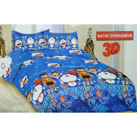 180 sprei bonita batik doraemon no 1 shopee indonesia